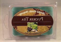 Pucker Tea 2.5 oz Wax Melts Scent Green Tea Lemongrass Packa