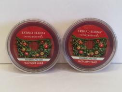 Yankee Candle Red Apple Wreath Scenterpiece Easy MeltCup, Fe