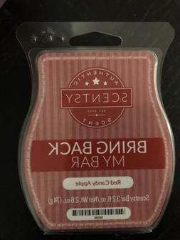 Scentsy Red Candy Apple BBMB Retired Wax Bar Melts Fragrance