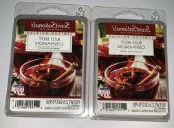 ScentSationals Red Hot Cinnamon Wax Cubes - 2017 Limited Edi