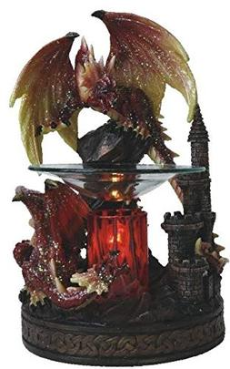 EcoScents Red Dragon Aroma Lamp, Multiple