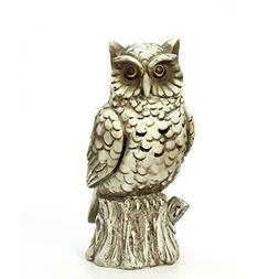 resin smoking owl incense cone