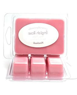 Rose Scented Wax Melts. Soy Wax Cubes for Warmers