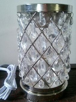 Scentsationals Clear Crystal Chandelier Full Size Wax Tart W