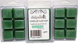 Bible Verse Candles 3 Pack Sage Soy Wax Melt 9oz Wax Cube Wa