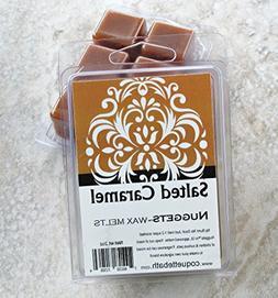 Salted Caramel Wax Melts, Sweet strong, 2 package special de