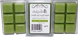 Bible Verse Candles 3 Pack Sandalwood Wax Melt 9oz Wax Cube