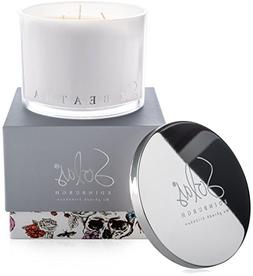 SOLAS Scented Candles: Large Glass Jar Candle - Natural Soy