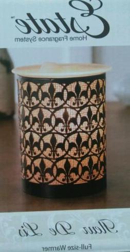 Fleur De Lis Estate Home Fragance System Full Size Wax Warme