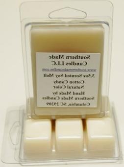 2 Pack 3.5 oz Scented Soy Wax Candle Melts Tarts - Cotton Ca