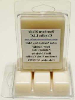 3.5 oz Scented Soy Wax Candle Melts Tarts - Baby Powder