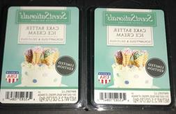 SCENTSATIONALS Scented Wax Cubes CAKE BATTER ICE CREAM / 2 P