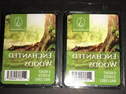 SCENTSATIONALS Scented Wax Cubes ENCHANTED WOODS / 2 Packs /