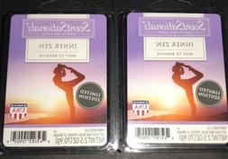 SCENTSATIONALS Scented Wax Cubes INNER ZEN / 2 Packs / 2.5 O