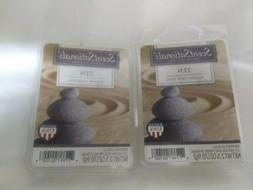 SCENTSATIONALS Scented Wax Cubes ZEN / 2 Packs / 2.5 Oz Each