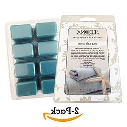 SEDONA Scented Wax Warmer Cube Melts 5 oz | SEA SALT LINEN |