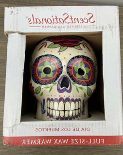 ScentSationals Scented Wax Warmer Dia De Los Muertos Skull