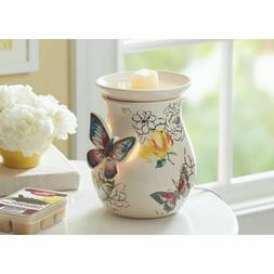 Better Homes and Gardens Scented Wax Warmer, Butterflies