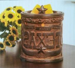 ScentSational Texas Lone Star State Embossed Full-Size Ceram