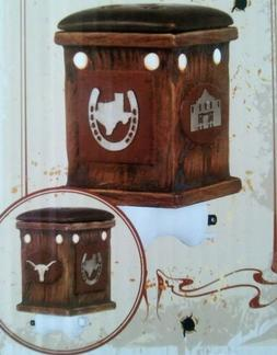 ScentSational Texas Pride Ceramic Brown Plug-in Wax Warmer