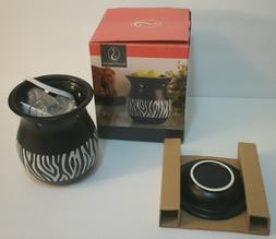 ScentSationals ZEBRA Black & White Stripe Full Size Electric