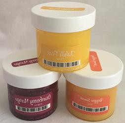 Scentsy 3 Large Tester Bundle Reggae Sunset, Cranberry Mango