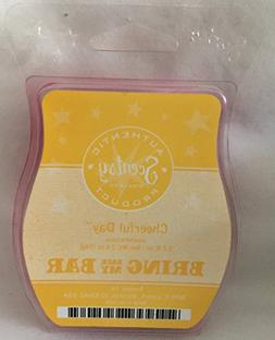 Scentsy Cheerful Day Wax 3.2oz Warmer Bar Rare and Retired