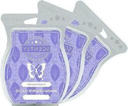 Scentsy, French Lavender, Wickless Candle Tart Warmer Wax 3.