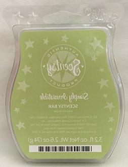 Scentsy Simply Irresistible Wax 3.2oz Warmer Bar Rare and Re