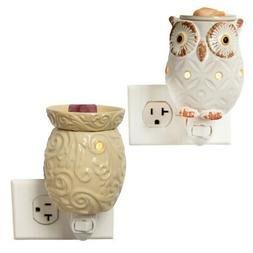 Set of 2 Electric Wax Warmers For Scented Melts Cubes Wall P