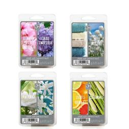 Hosley Set of 4 Assorted Scent Wax Cubes Melts 1.25 Ounce Ea