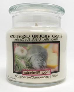 Premium 100% Soy Apothecary Candle - 16 oz.- Odor Eliminator