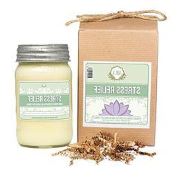 Aira Soy Candles - Organic, Kosher, Vegan, in Mason Jar w/ T