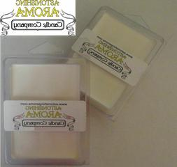 Soy Wax Clamshell Break Away tart melt wickless candle 300+