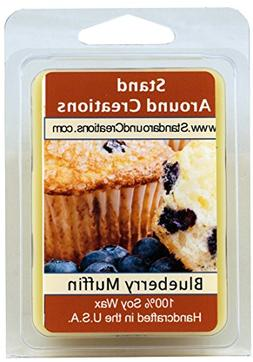 100% Soy Wax Melt Tart - Blueberry Muffins: The aroma of fre