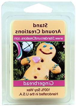 100% All Natural Soy Wax Melt Tart - Gingerbread: A spiced c