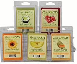 "EcoScents 100% All Natural Soy Wax Melts - ""Fruit Pack"""