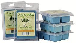 "EcoScents 100% All Natural Soy Wax Melts - ""Island Breeze"" 5"