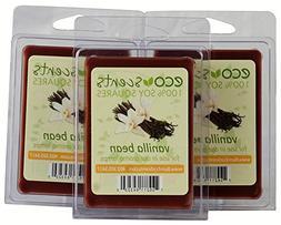 "EcoScents 100% All Natural Soy Wax Melts - ""Vanilla Bean"" 3"