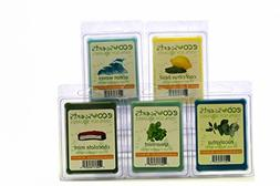"""EcoScents 100% All Natural Soy Wax Melts - """"Cool Weather Pac"""