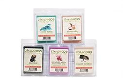 "EcoScents 100% All Natural Soy Wax Melts - ""Aqua Pack"""