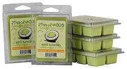 "EcoScents 100% All Natural Soy Wax Melts - ""Coconut Lime"" 5"