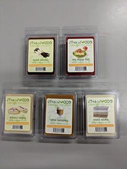 """EcoScents 100% All Natural Soy Wax Melts - """"Scents of Home P"""