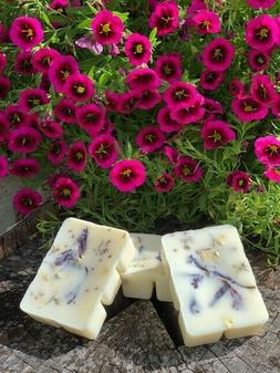 soy wax melts with natural botanicals watermint