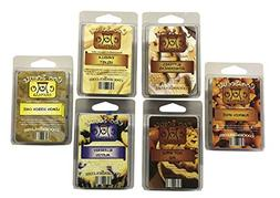 6 Pk Soy Wickless Candle Wax Bar Melts - Bakery Pack. Hot Ap