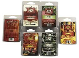 6 Pack Soy Wickless Candle Wax Bar Melts - Woodsy Outdoor Ma