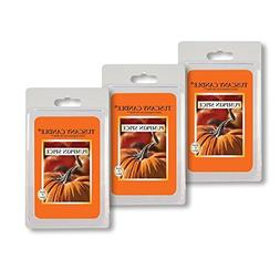 3 Pack - Pumpkin Spice Tuscany Candle Wax Melts Fragrance Ba