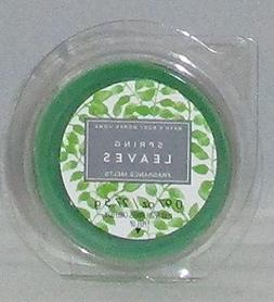 LOT OF 2 BATH & BODY WORKS SPRING LEAVES WAX MELTS TART WHIT