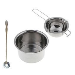 Stainless Steel Wax Melting Pitcher Pot Boiler Stirring Spoo