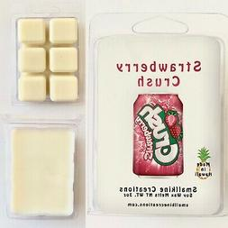 strawberry crush soda scented soy wax melts
